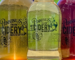 Pennings Farm Cider Bottles